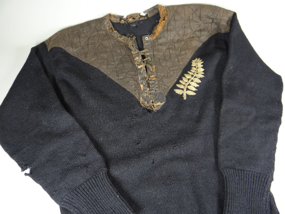 1905 All Blacks Jersey (vs Oz) - Rugby Memorabilia Society
