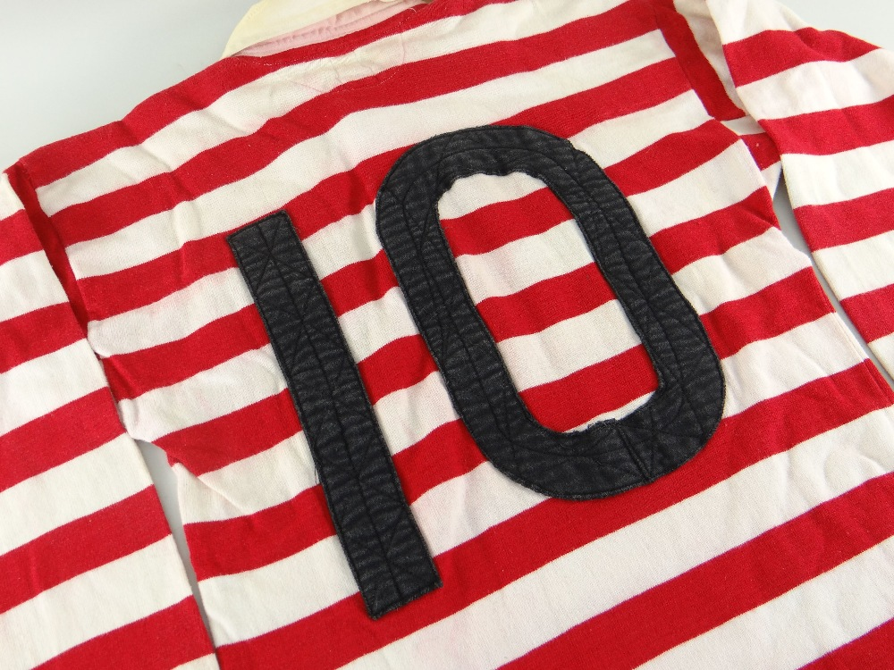 1955 Combined England - Wales Jersey - Bill Williams (1)