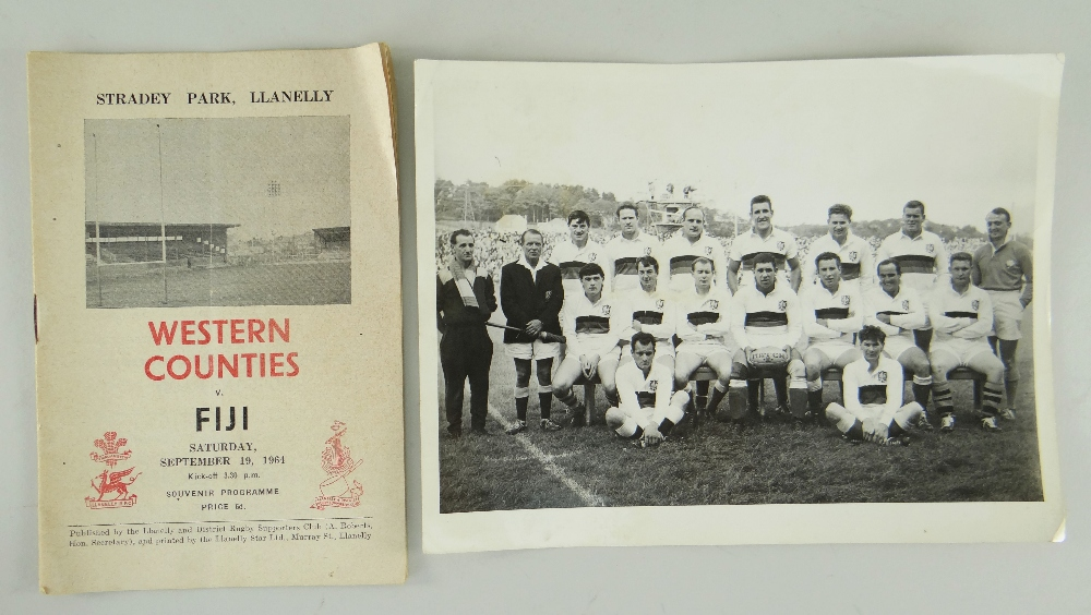 1964 Western Counties Jersey - Norman Gale (2)