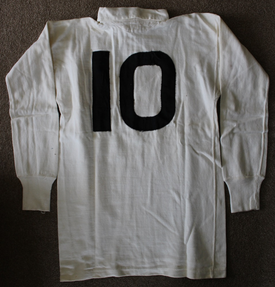 Bev Risman - match worn England rugby union jersey - Rugby Memorabilia Society (1)