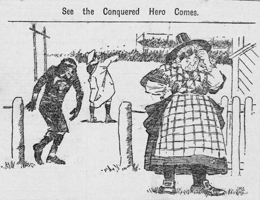 Evening Express - 28th Jan 1895