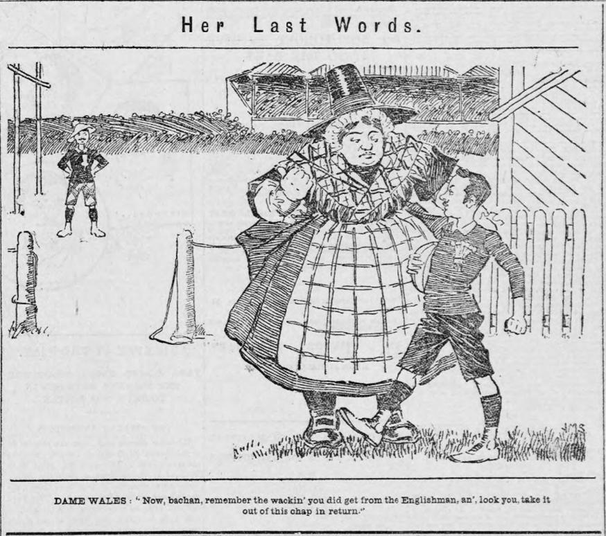 Evening Express 26th Jan 1895