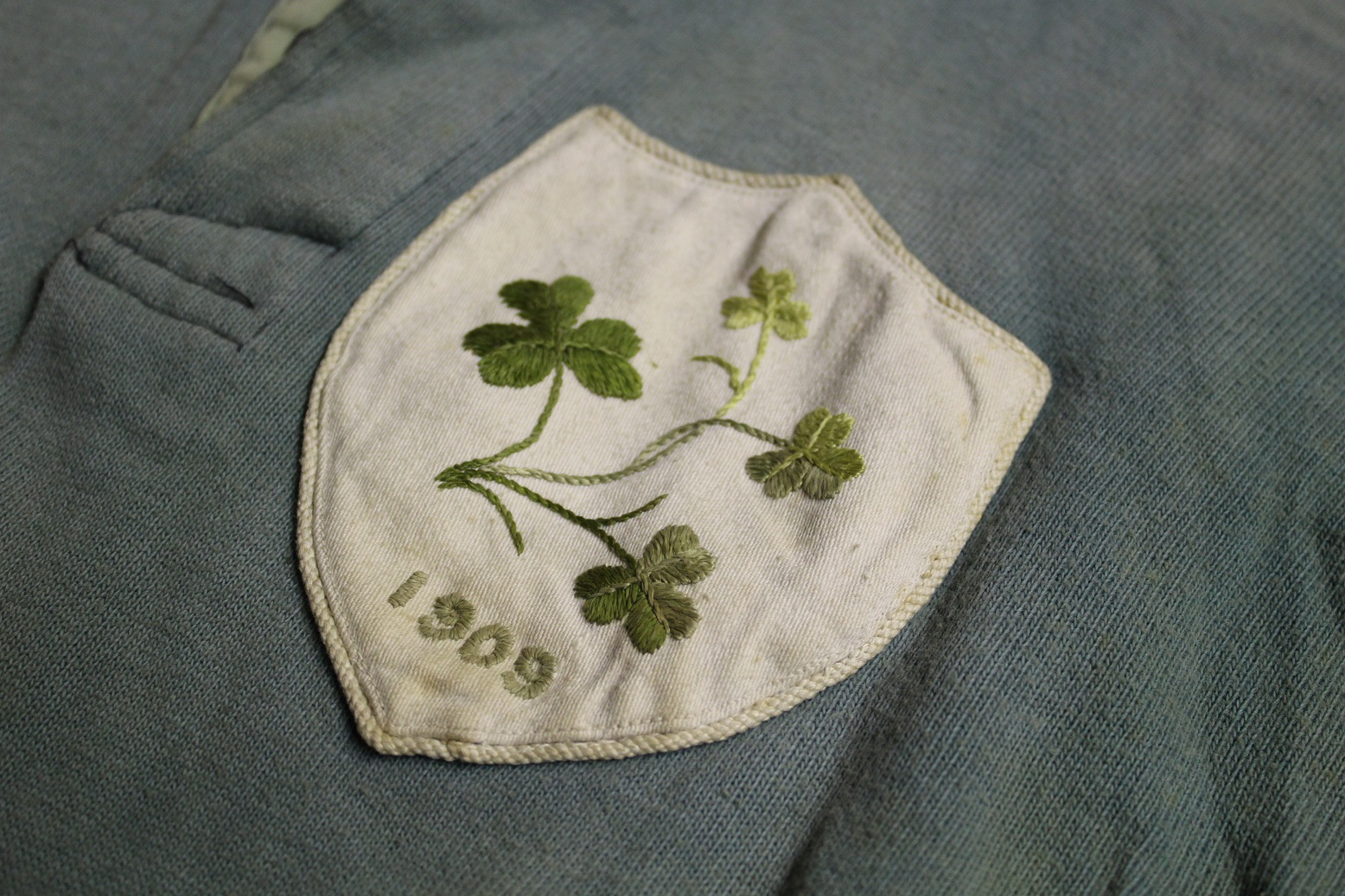 1909 Match worn Ireland Jersey