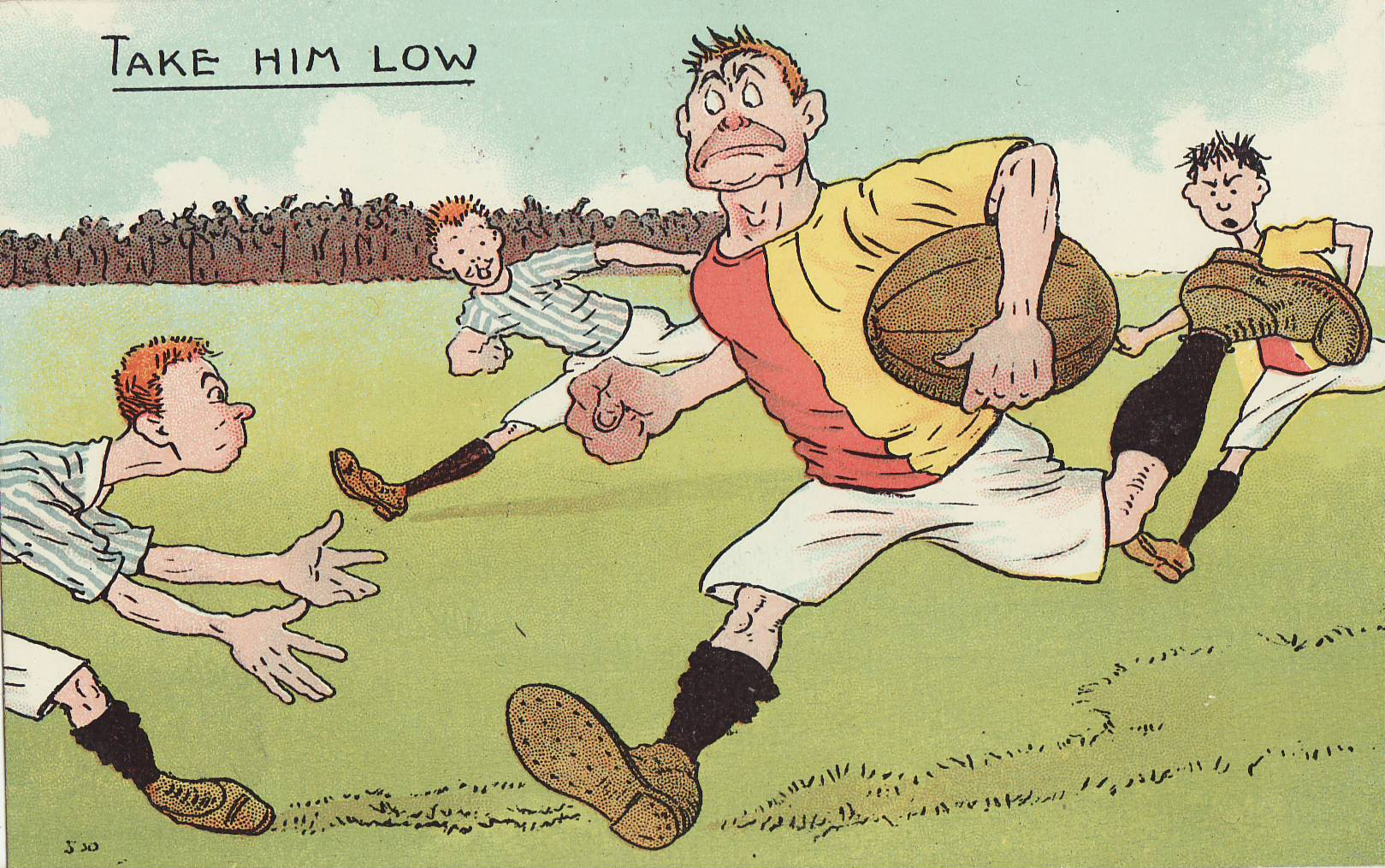 Tom Browne - Rugby Poscards (1)