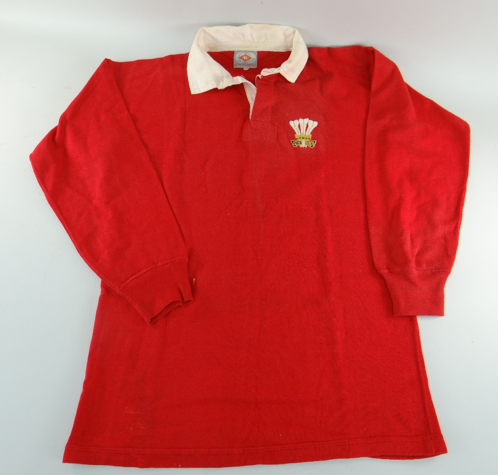 Wales Rugby Jersey - Norman Gale (1)